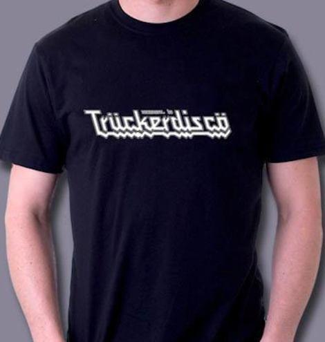 Truckerdisco classic black Men's T-Shirt
